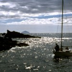 Sailing into Dunure